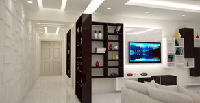 A premium Apartment interior project designed for one of our clients
