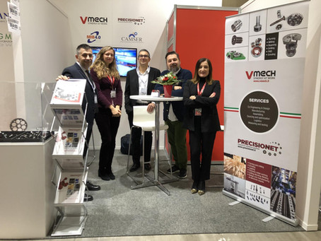 Vmech exhibited at Elmia Subcontractor 2019