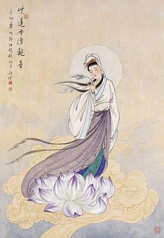 其佛畫作品向我們揭示什麼?「禪」的精神