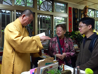【觀音聖誕】覺無憂藝術拜訪中國佛教會副會長明光法師