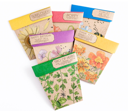Sow & Sow Gift of Seeds Card