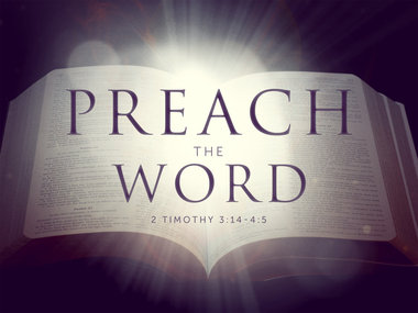 Image result for Preach the Word of God