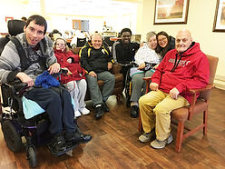 group visiting sue at rehab lightened.jp