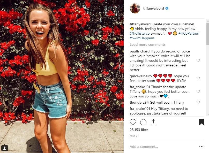 Hollister #swimhappens Tiffany Alvord Social Media Influencer Campaign