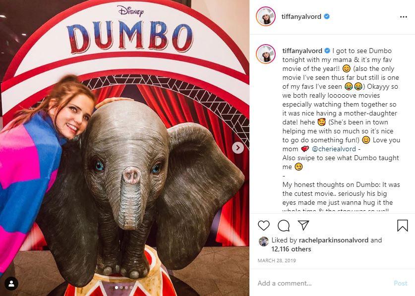 Dumbo @reald3d @4dxusa Tiffany Alvord Social Media Influencer Campaign