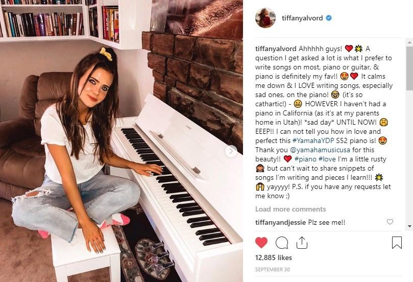 Yamaha YDP S52 Tiffany Alvord Social Media Infuencer