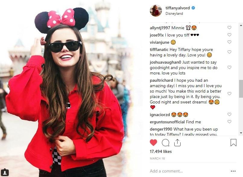Disney Sunglass Hut Tiffany Alvord Social Media Influencer Campaign