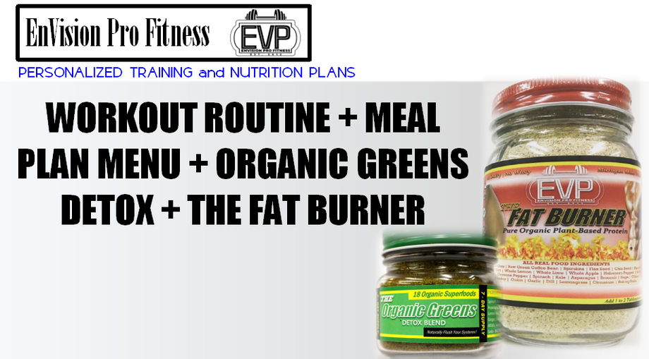 personalized fitness and nutrition plan