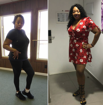 Sherry Smith Before and After less than