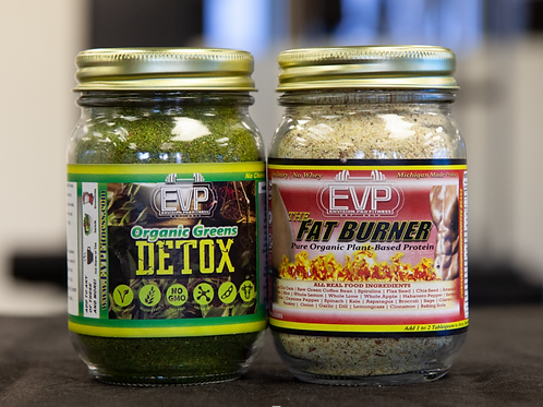 EVP Organic Greens and The Fat Burner Organic Protein