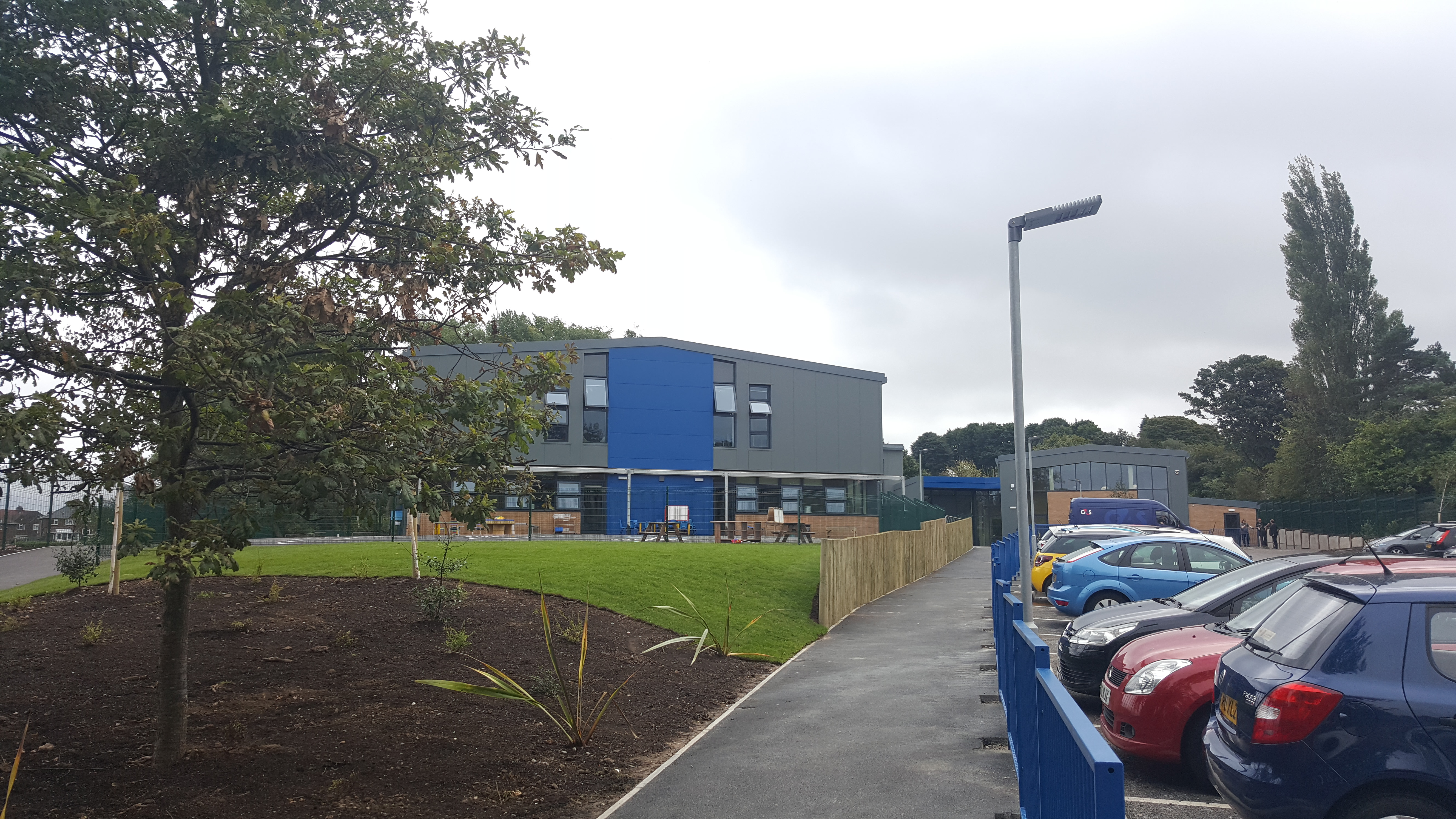Our beautiful new school