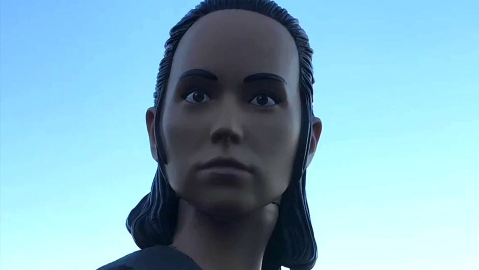Starwars - a Stopmotion Episode