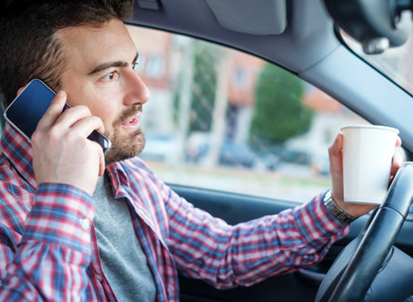 THE DANGERS OF DISTRACTED DRIVING – How to protect employees and your business.