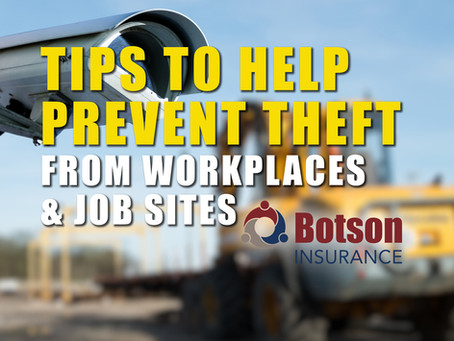 20 Tips for Theft Prevention: Landscape and Contractor Vehicles and Equipment