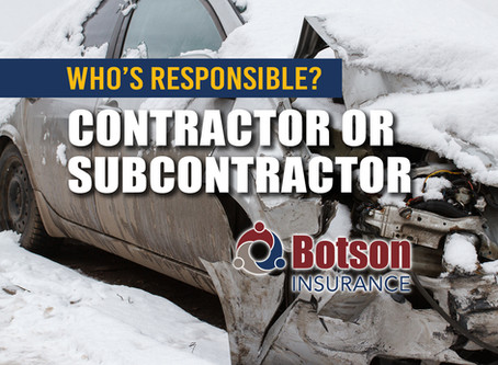 Who's responsible when there is a claim involving a Subcontractor?