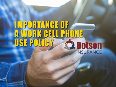 The Importance of a Company Cell Phone Use Policy to Help Avoid Distracted Driving