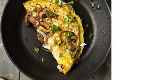 My favourite mushroom omelette