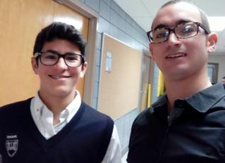 Chavruta of the Week: Marcus Rehany and Mordechai Hadad