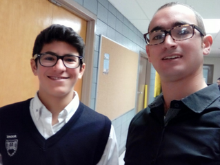 Chavruta of the Week: Marcus Rehany and Mordechai Hadad
