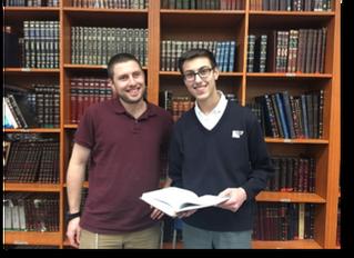 Chavruta of the Week: Yoni Mydlarski and Rav Asael Levin