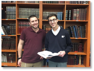 Chavruta of the Week: Yoni Mydlarski and Rav Asael Levin