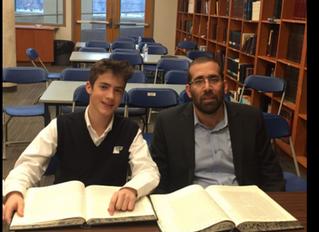 Chavruta of the Week: Daniel Sternthal and Rav Yedidya Noiman