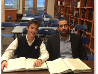 Chavruta of the Week: Daniel Sternthal and Rav Yedidya Noiman
