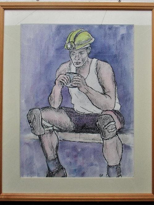 A Miner's Tea Break