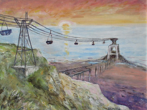 The Old Aerial Ropeway, Horden