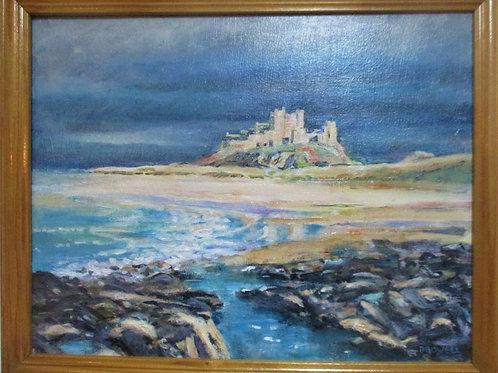 Bamburgh Castle, Dark Sky