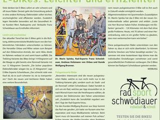 Radsport Schwödiauer in der Bezirksrundschau