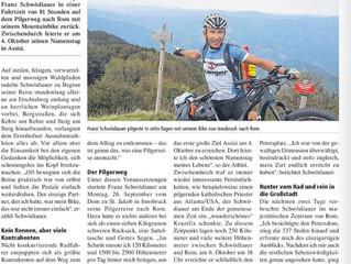 Mit dem Rad von Innsbruck nach Rom