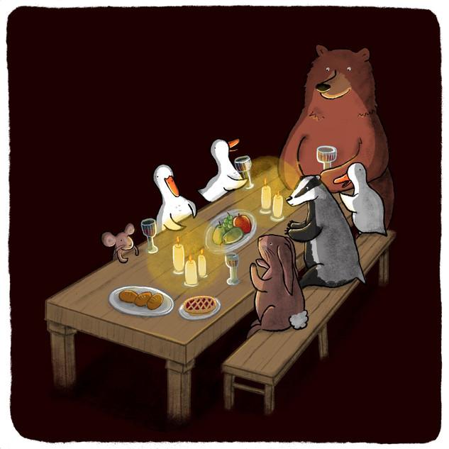 Folktale Week - Dinner Party