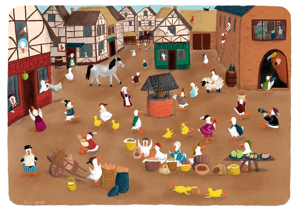 Bruegel Ducks