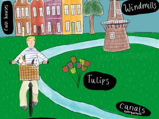 Dutch Life- Illustrated Diary