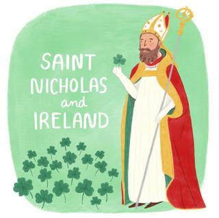 Saint Nicholas in Ireland