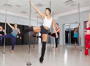 beginner pole dance class