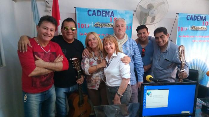 Peñas y festivales debutó a puro folklore