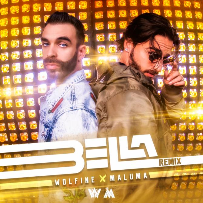 """El remix de """"Bella"""" de Wolfine junto a Maluma"""