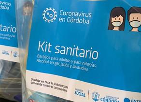 Hoy continúa la entrega de kits sanitarios a beneficiarios de la Tarjeta Social