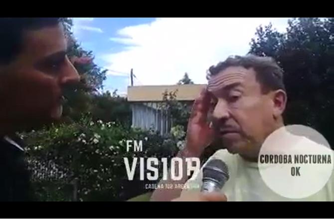 Aníbal Pachano habló en exclusiva con FM Visión