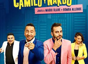 El Show de Camilo y Nardo debutó a sala repleta en Carlos Paz