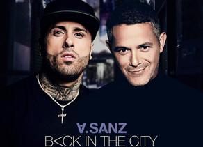 """Así suena """"Back In The City"""", lo nuevo de Nicky Jam y Alejandro Sanz"""