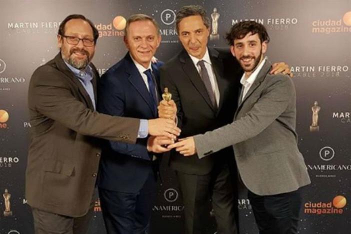 """La lista de ganadores de los premios Martín Fierro de Cable 2018: """"A dos voces"""" se llevó e"""