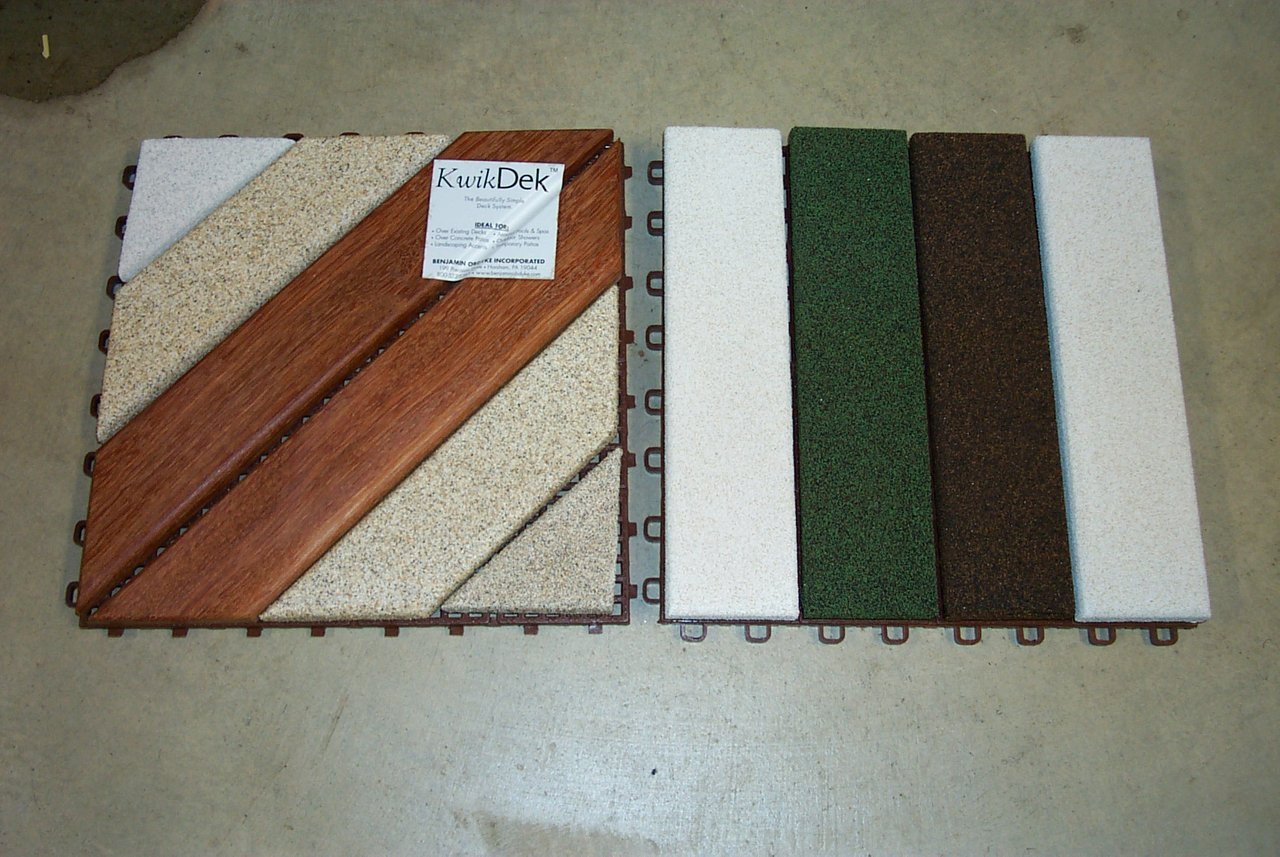 Earth Stone™ Decking Samples
