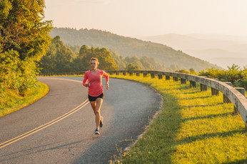 running-blue-ridge-parkway