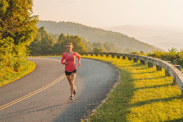 running-blue-ridge-parkway