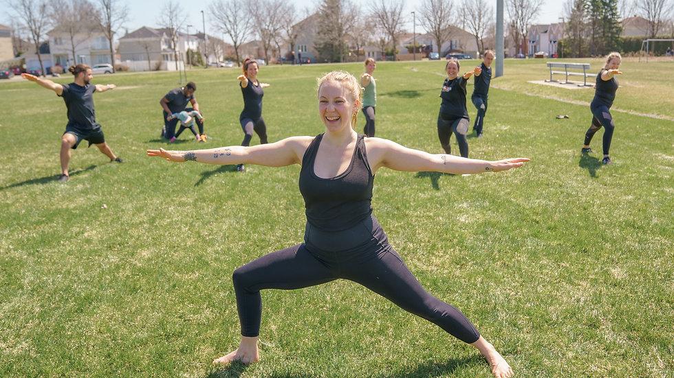 "5 séances de ""Power Yoga"" mardi 18:30"