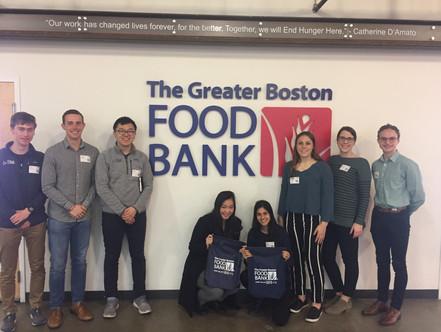 Volunteer at Boston Food Bank