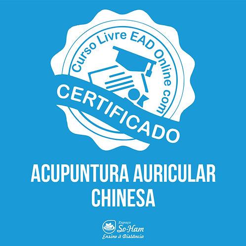 Acupuntura Auricular Chinesa Curso EAD Online